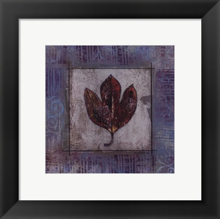 Framed Autumn Breeze IV Print
