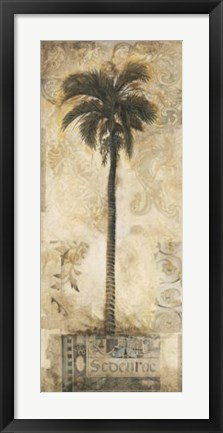 Framed Tropic Seduction I Print