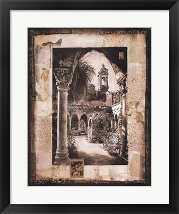 Framed Splendor of Travel II Print