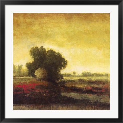 Framed Sunset Trees Two Print