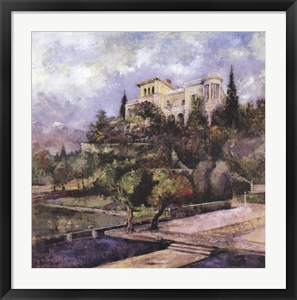 Framed Tuscan Summer Print