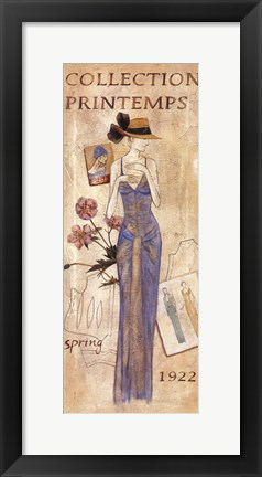 Framed La Mode 1922 Print