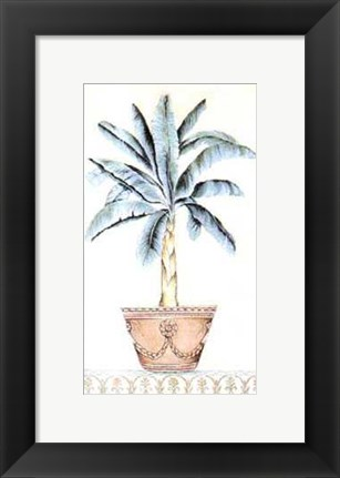 Framed Palm Topiary II Print