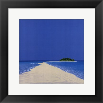 Framed Island in the Sun II Print