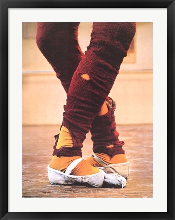 Framed Leg Warmers Print