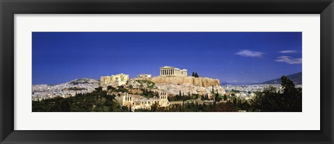 Framed Acropolis, Athens, Greece Print