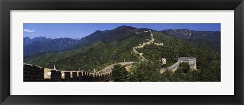 Framed Great Wall of China, Mutianyu Print