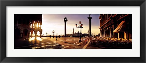 Framed Piazza San Marco, Venice, Italy Print