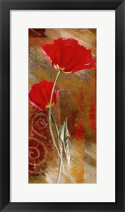 Framed Two Tulips Print