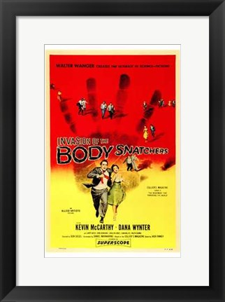 Framed Invasion of the Body Snatchers McCarthy & Wynter Print