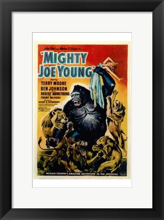 Framed Mighty Joe Young Print