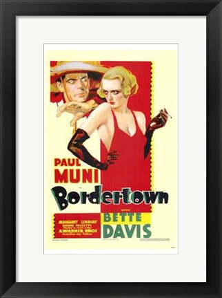 Framed Bordertown Print