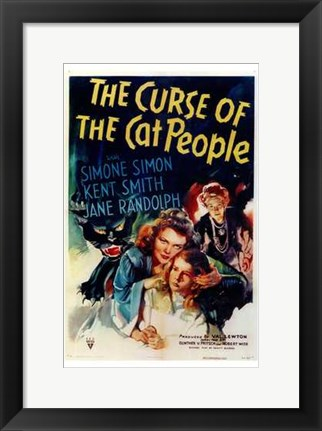 Framed Curse of the Cat People Print