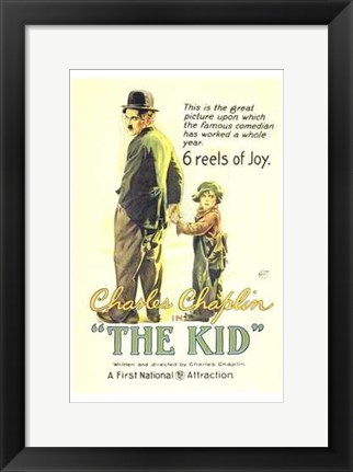 Framed Kid 6 Reels of Joy Print