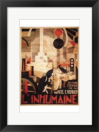 Framed L'inhumaine Print