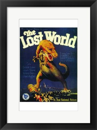 Framed Lost World Print