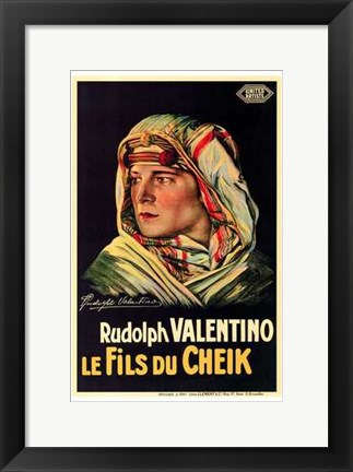 Framed Son of the Sheik In French Print
