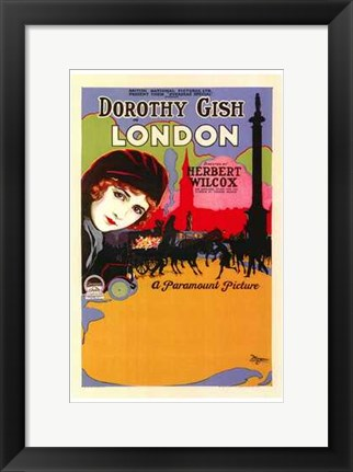 Framed London - Dorothy Gish Print