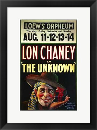 Framed Unknown - Lowes Orpheum Print