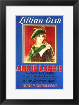 Framed Annie Laurie Print