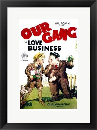 Framed Love Business Print
