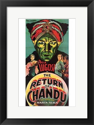 Framed Return of Chandu - tall Print