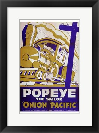 Framed Onion Pacific Print