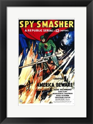 Framed Spy Smasher - 12 chapters Print