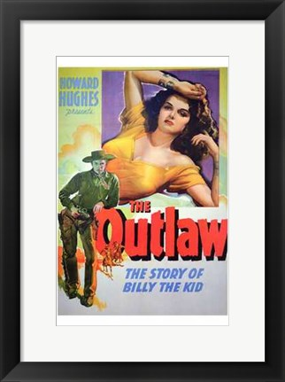 Framed Outlaw Cowboys Print