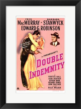Framed Double Indemnity Print