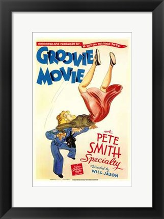 Framed Groovie Movie Print