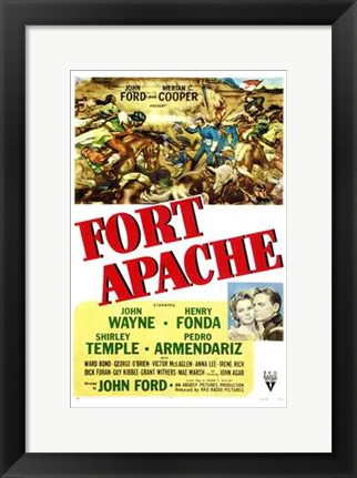Framed Fort Apache Print