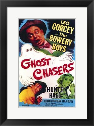 Framed Ghost Chasers Print