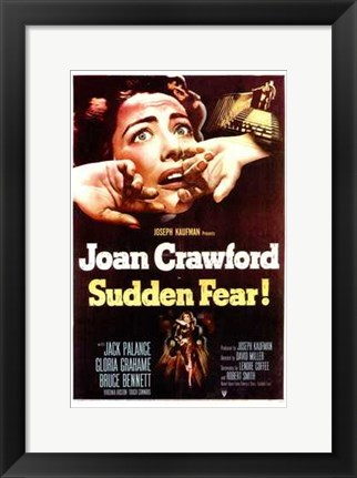 Framed Sudden Fear Print