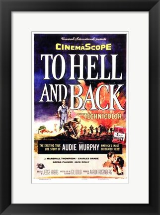 Framed to Hell and Back Print
