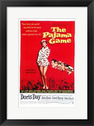 Framed Pajama Game Print
