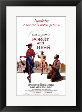 Framed Porgy and Bess Print