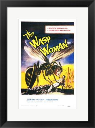 Framed Wasp Woman Print