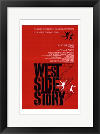 Framed West Side Story Natalie Wood Print