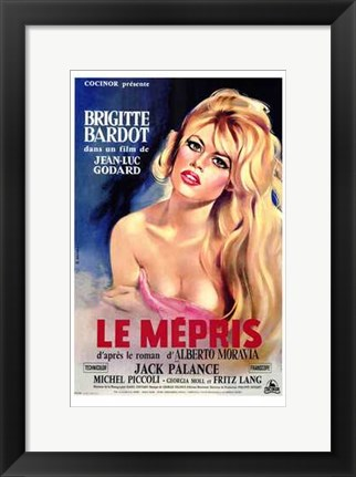 Framed Contempt - French Print