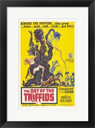 Framed Day of the Triffids Print