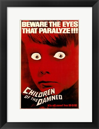 Framed Children of the Damned MGM Print