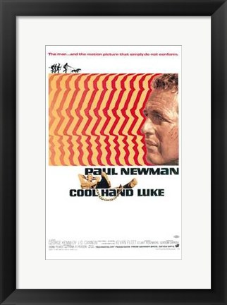 Framed Cool Hand Luke Retro Print