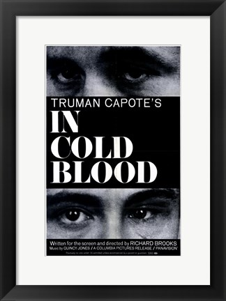 Framed in Cold Blood Print