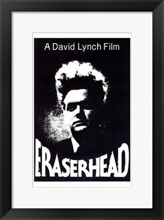Framed Eraserhead By David Lynch Print