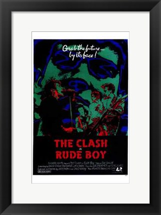 Framed Rude Boy Print