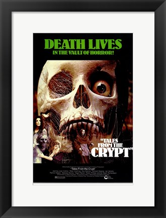 Framed Tales from the Crypt Death Lives Print