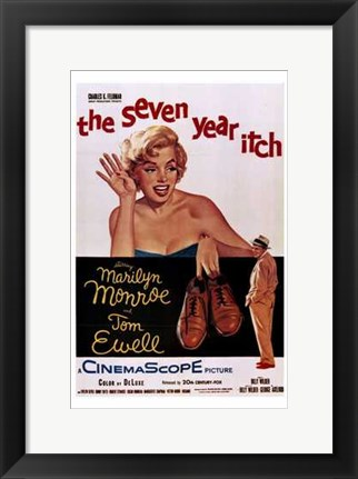 Framed Seven Year Itch - style A, c.1955 Print