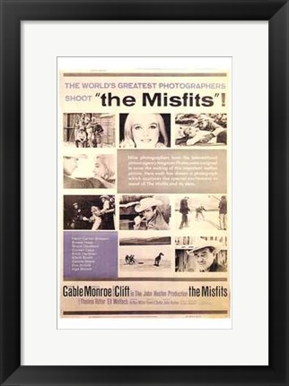 Framed Misfits Greatest Photographers Print