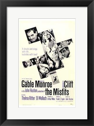 Framed Misfits It Shouts and Sings Print